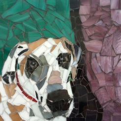 """ Cash"" mosaic by Ellen Hahn, NFS"