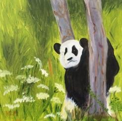 """Panda"" by Marylou Madsen $90"