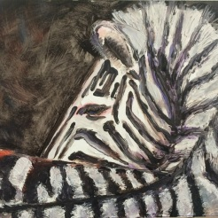 """ Zebra"" by Renee Nolan NFS"