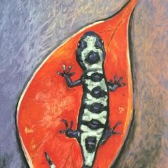 """ Salamander"" by Renee Nolan NFS"