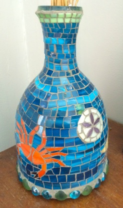""""""" Tidepool"""" mosaic, by Jacque Towner NFS"""