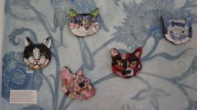 Cat Portraits by Candace Clough's workshop